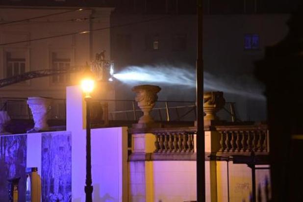 Dakbrand in Bozar Brussel grotendeels geblust