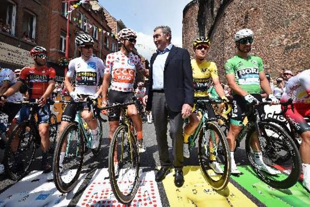 Binche ville départ de la 6e étape du prochain Tour de France