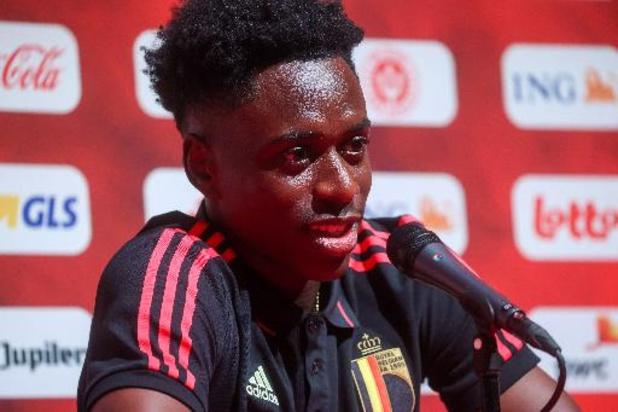 Albert Sambi Lokonga espère jouer ses premières minutes avec les Diables