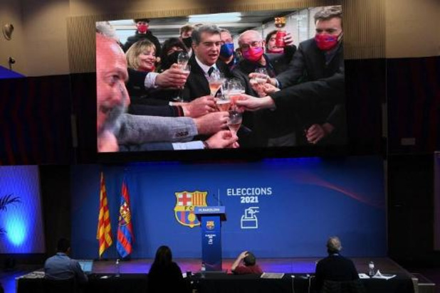 La Liga - Joan Laporta de retour comme président du FC Barcelone