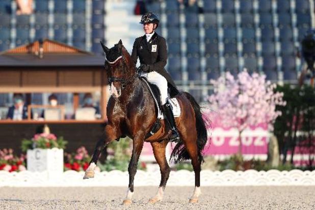 OS 2020: Laurence Roos grijpt ondanks sterke kür naast dressuurfinale