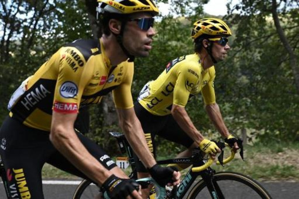 Titelverdediger Roglic en Dumoulin leiden selectie Vuelta van Jumbo-Visma