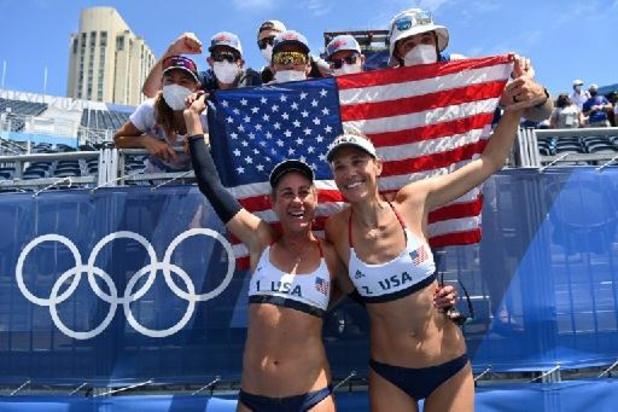 JO 2020 - Les Américaines April Ross et Alix Klineman sacrées en beachvolley