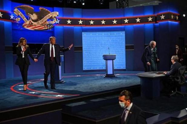 Présidentielle américaine 2020 - Le modérateur pointe la responsabilité de Donald Trump pour un premier débat chaotique