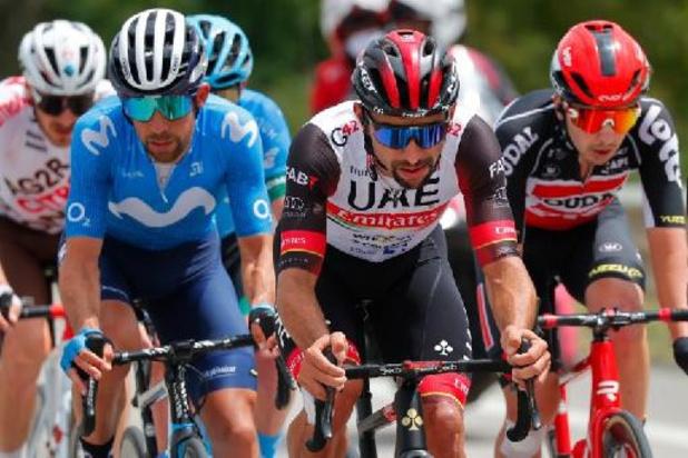 Fernando Gaviria s'impose au sprint lors de la 3e étape