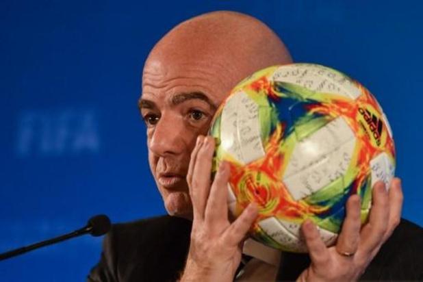 """Infantino """"respectera"""" toute décision de la Commission d'éthique de la FIFA"""