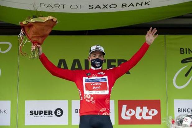 BinckBank Tour: Sören Kragh Andersen vainqueur du chrono de Riemst, Mads Pedersen reste leader