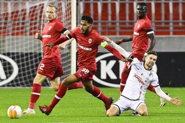 "Europa League - Faris Haroun is teleurgesteld na nederlaag tegen Linz: ""Scherpte ontbrak vandaag"""