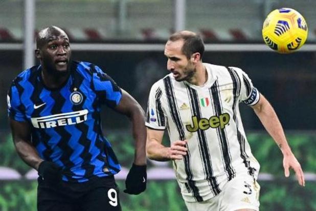 Les Belges à l'étranger - L'Inter et Lukaku remportent le match au sommet face à la Juventus