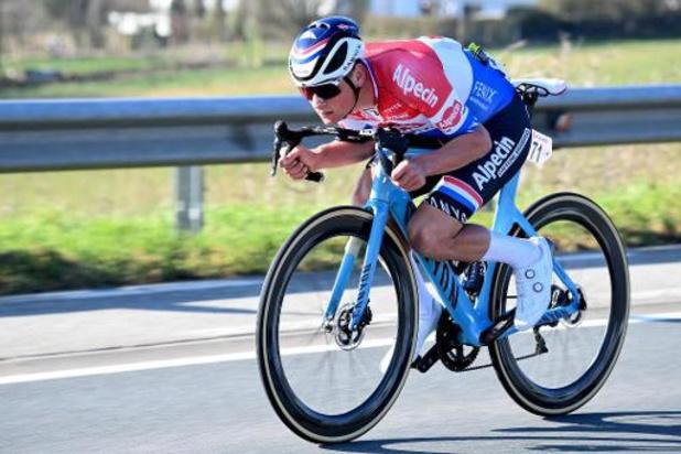 """Kuurne-Brussel-Kuurne - Van der Poel gaat na """"aangename kennismaking met Kuurne"""" voor podium in Strade Bianche"""