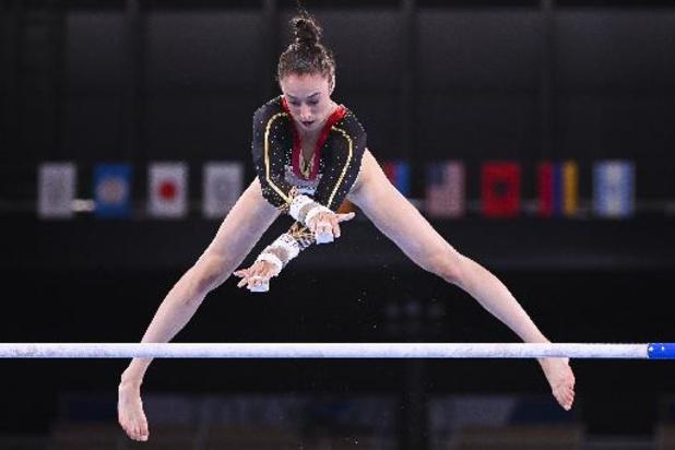 Belgische turnsters worden achtste in eerste olympische teamfinale, goud voor Rusland