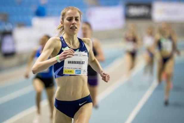 IFAM Indoor de Gand - Elise Vanderelst gagne le 1.500m et vise une finale à l'Euro en salle