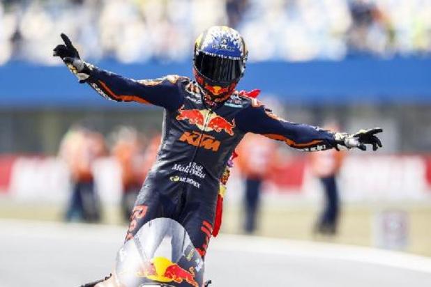 Nouvelle chute pour Barry Baltus au Grand Prix d'Autriche, victoire de Raul Fernandez