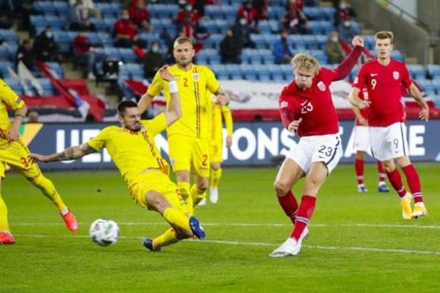 Ligue des Nations - Premier triplé d'Haaland avec la Norvège