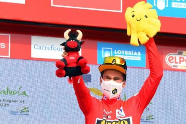 """Tour d'Espagne - Damiano Caruso vainqueur de la 9e étape: """"incroyable de réussir cela après le Giro"""""""