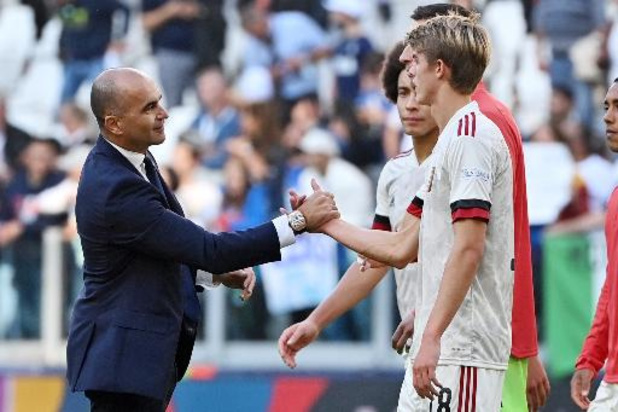 """Rode Duivels - De Ketelaere geniet nog na van 1e doelpunt: """"Had wel liever de Nations League gewonnen"""""""