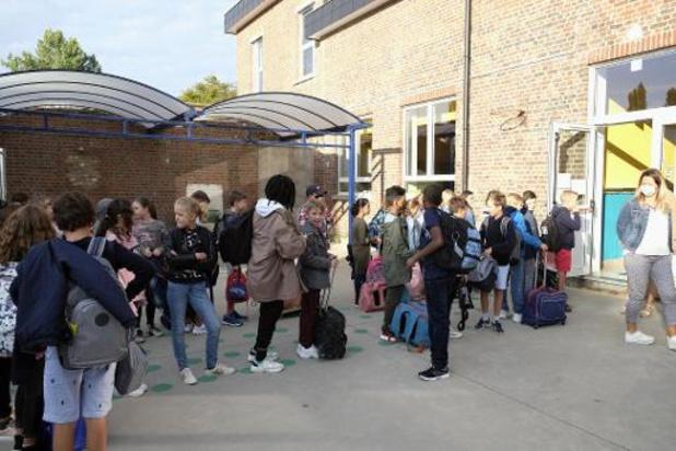 Ook Franstalig België ziet aantal coronabesmettingen op school stijgen