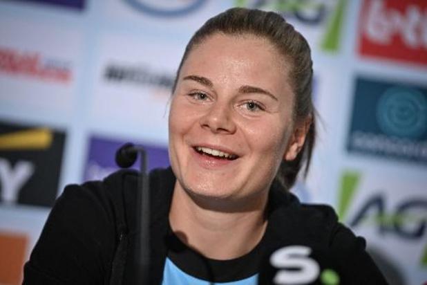 """Lotte Kopecky is klaar voor WK: """"Heb goede gevoel te pakken"""""""