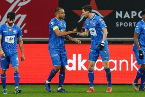 La Gantoise concède un deuxième partage à domicile cette saison, face au Club Bruges