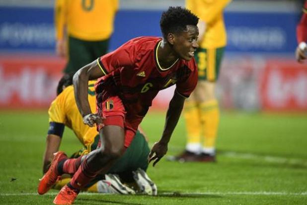 """Euro U21 2021 - Qualifications - """"Pour la qualification, notre seul adversaire, c'est nous-mêmes"""", prévient Lokonga"""