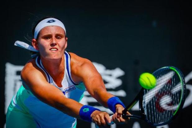 Open d'Australie - Fin de parcours pour Greet Minnen (WTA 119) battue par Elena Rybakina