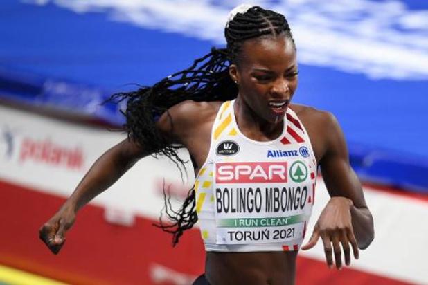"""Championnats d'Europe d'athlétisme en salle - Cynthia Bolingo manque une place en finale: """"Un double sentiment"""""""