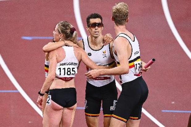 OS 2020 - Belgen in finale 4x400 mixed toch tegen Amerikanen en Dominicanen