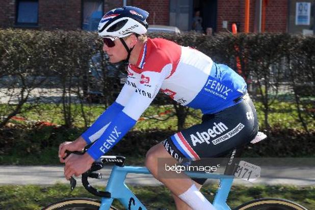 5e étape: victoire de van der Poel, Pogacar reste leader