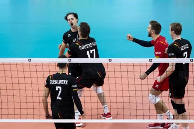 EK volley (m) - Red Dragons hakken ook Slovakije in de pan