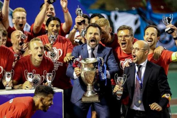 """Croky Cup - Leko bezorgt Antwerp eerste beker in 28 jaar: """"Absoluut verdiende zege"""""""