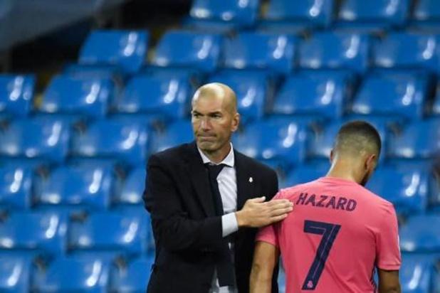 """Zidane hoopt Eden Hazard """"heel binnenkort"""" opnieuw op het veld te zien"""