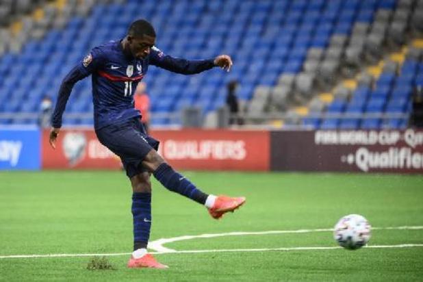 La France s'impose au Kazakhstan et signe sa première victoire des qualifications au Mondial 2022