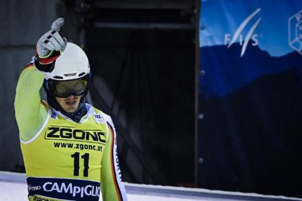 Duitser Linus Strasser wint slalom in Zagreb
