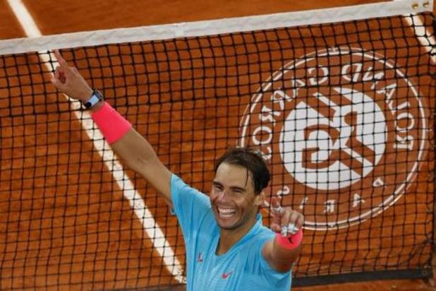 """Roland-Garros - Rafael Nadal reconnait qu'il a joué à un """"niveau incroyable"""""""