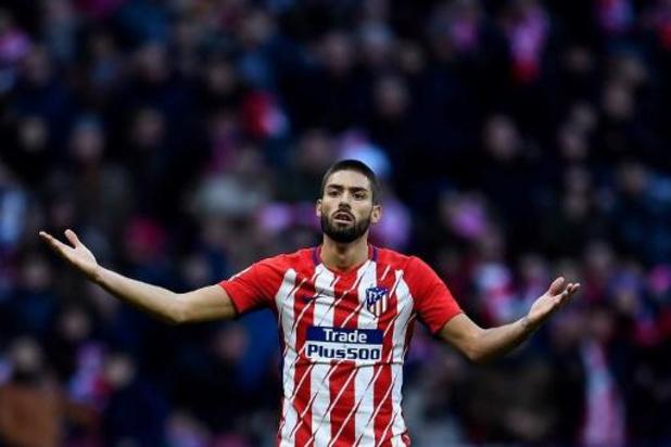 Yannick Carrasco quitte la Chine et fait son retour à l'Atlético Madrid, en prêt
