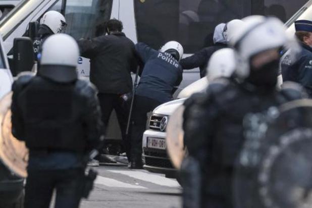 Brusselse agenten melden zelf politiegeweld