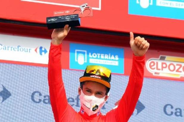 """Tour d'Espagne - Roglic, autoritaire, conforte son maillot rouge et estime """"mériter la journée de repos"""""""