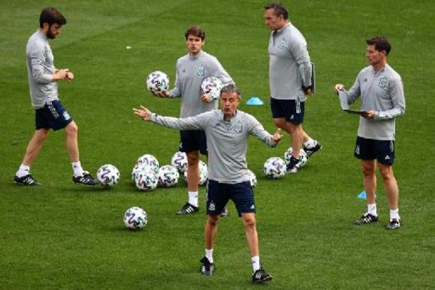 Euro 2020: Moreno sur le banc pour l'Espagne, Caleta-Car titulaire pour la Croatie