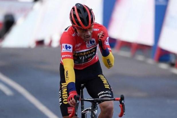 """Tour d'Espagne - Primoz Roglic sur le point de remporter sa 2e Vuelta: """"Une belle manière de finir l'année"""""""