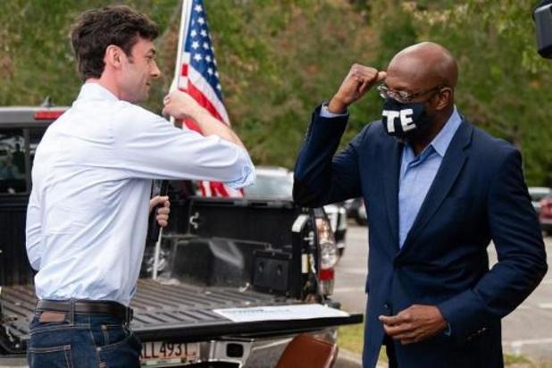 Congresverkiezingen VS - Senaatskandidaten Georgia halen recordhoeveelheid campagnegeld op