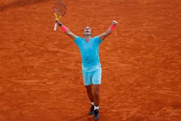 """Roland Garros - Rafael Nadal is blij met nieuwe finaleplaats: """"Ongelooflijk om weer in finale te staan"""""""