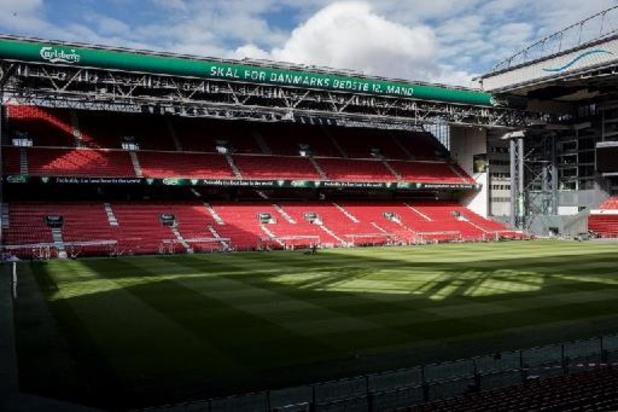 25.000 spectateurs devraient être présents à Copenhague face à la Belgique
