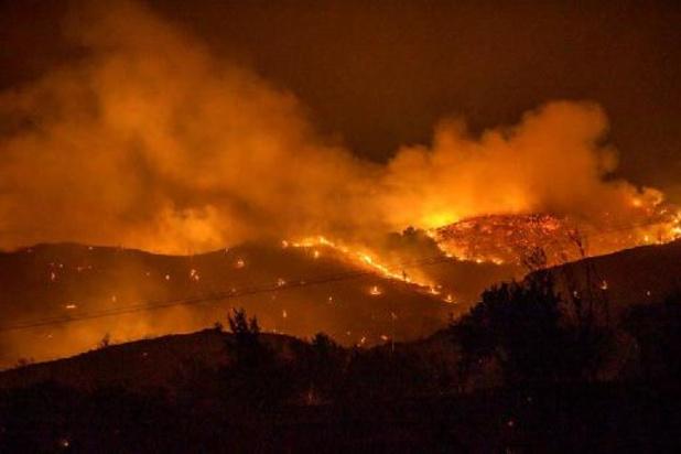 Zware bosbrand op Cyprus onder controle