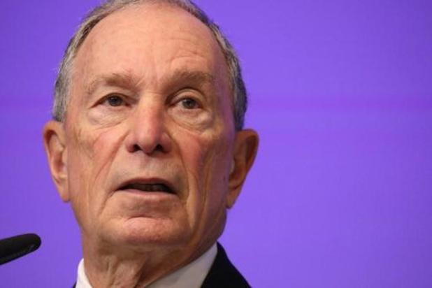Bloomberg dient formulieren in voor kandidatuur Amerikaanse presidentsverkiezingen