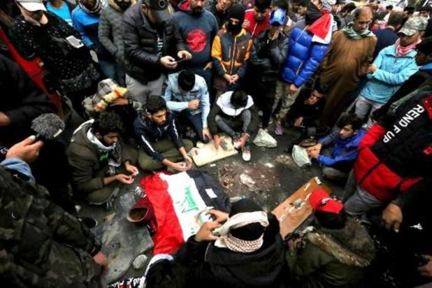 Dodentol betogers in Bagdad loopt op tot 17