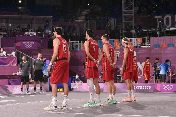 3x3 Lions grijpen naast het brons in kleine finale tegen Servië