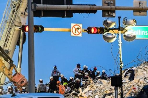 Gebouw ingestort nabij Miami - Dodental loopt op tot 64