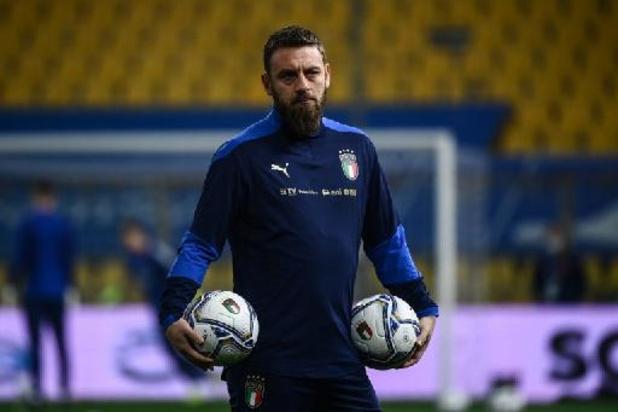 De Rossi hospitalisé après le foyer développé dans l'équipe nationale italienne
