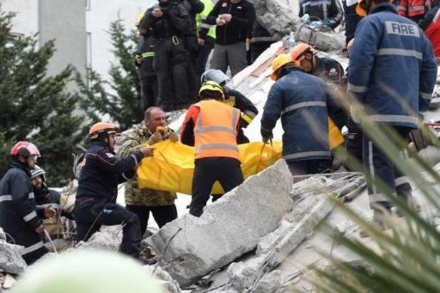 Dodentol aardbeving Albanië stijgt naar 46