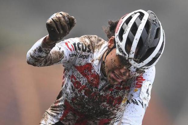 Alvarado triomfeert in glijpartij op DVV Trofee Ronse